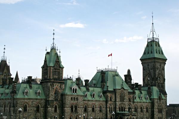 Ottawa Parliament Buildings, April 25, 2009