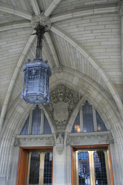 Ottawa Parliament Entrance, April 25, 2009