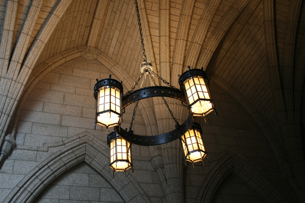 Ottawa Parliament Lanterns, April 25, 2009