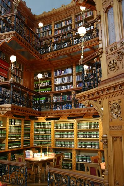 Ottawa Parliament Library, April 25, 2009