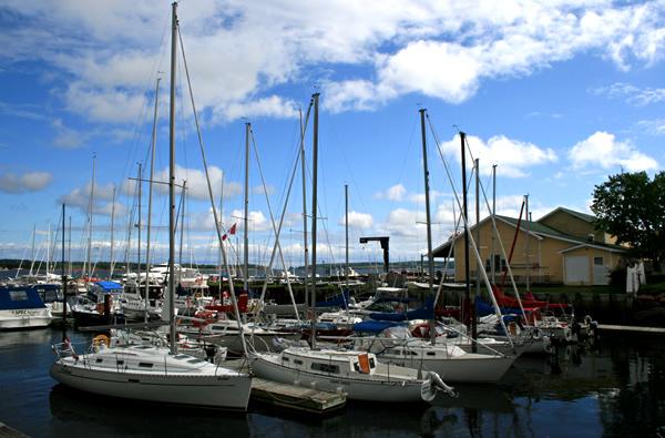 Charlottetown Marina, July 5, 2009