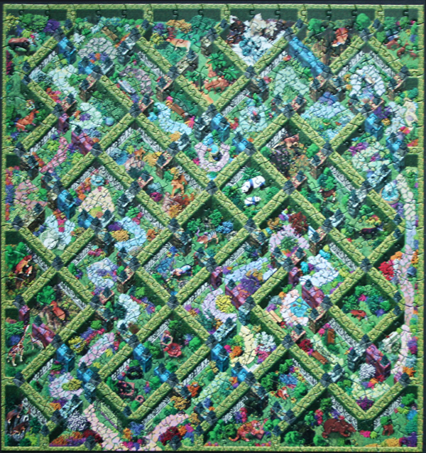 Puzzle Lost In A Jigsaw Ii Survival Of The Fittest Fingering Zen