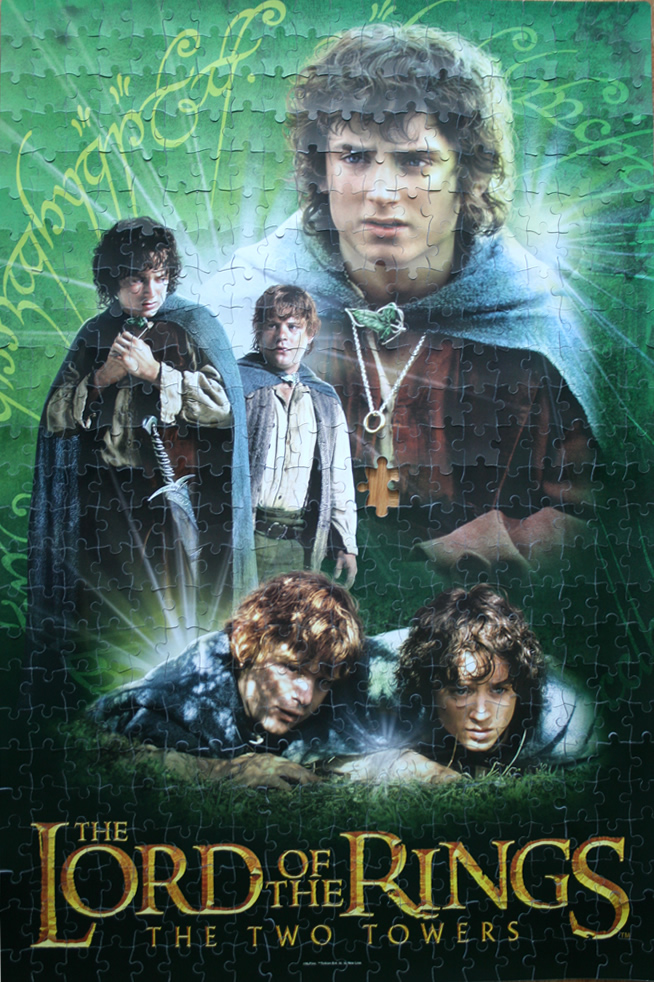 Puzzle The Lord Of The Rings The Two Towers Frodo And