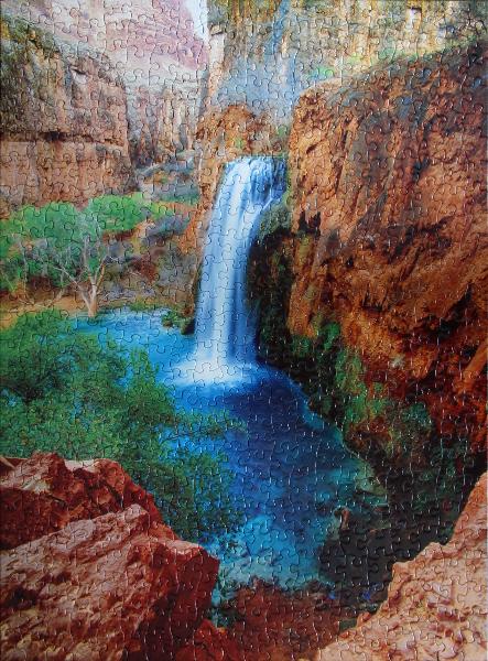 Havasu Falls, med