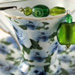 Green lantern silver plated bookmark, etsy, blue cup, medium