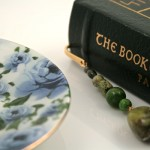 Mountain green gold plated bookmark, etsy, book, medium