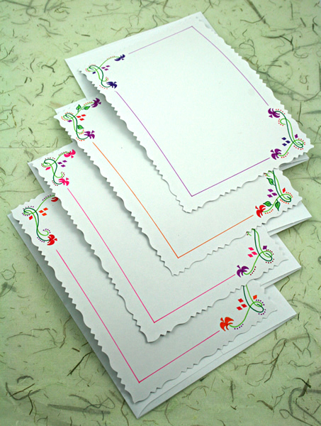 Ottawa tulip festival cards, etsy, vertical back, medium