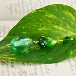Spring morning silver plated bookmark, etsy, leaf, medium