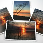 River sunset cards, etsy, front, medium