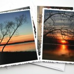 River sunset cards, etsy, odd, medium