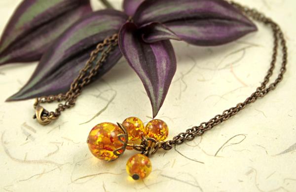 Sunlight bubbles necklace, etsy, beige bg, medium