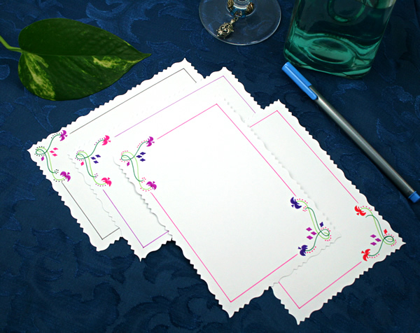 Petals to light cards, etsy, back, medium