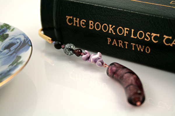 Purple dream gold plated bookmark, etsy, book, medium