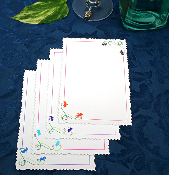 Branches over water cards, etsy, back, md