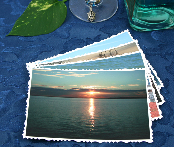 Sea day and twilight cards, etsy, front sunset, md