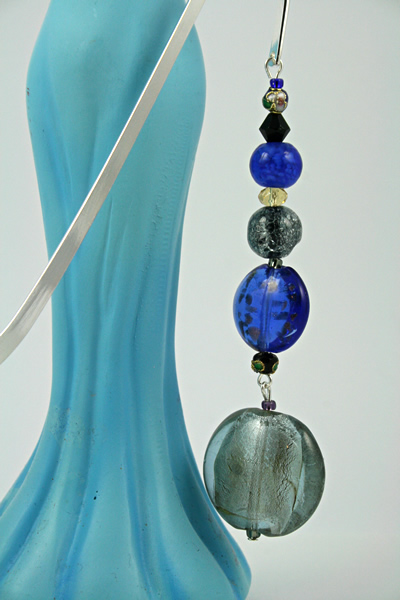 Cloudy Sky bookmark, blue model, md