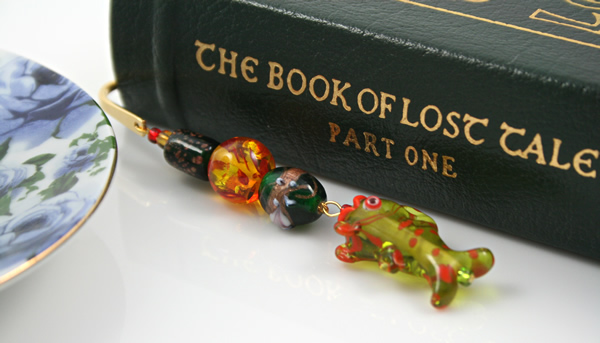 Fish of Green Meadows bookmark, book, md