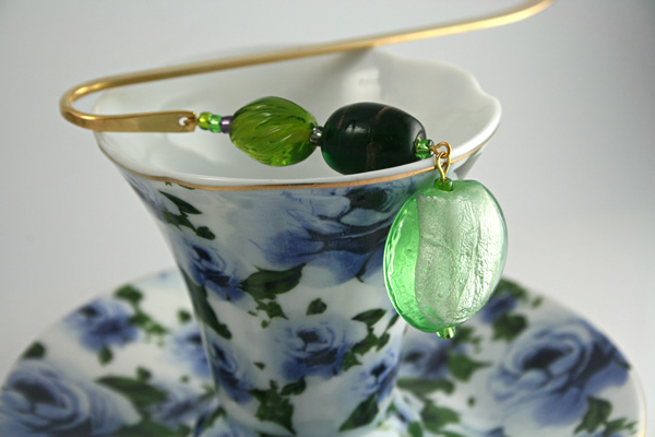 Green Apple bookmark, cup, md