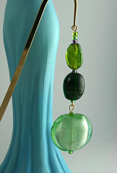 Green Apple bookmark, model, md