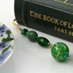 Green Universe bookmark, book, md