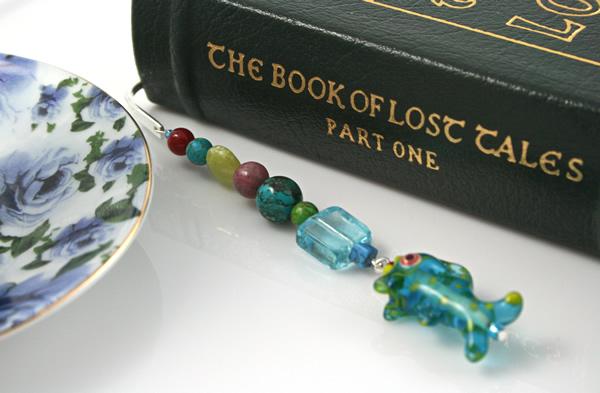 Sea Jewels bookmark, book, md