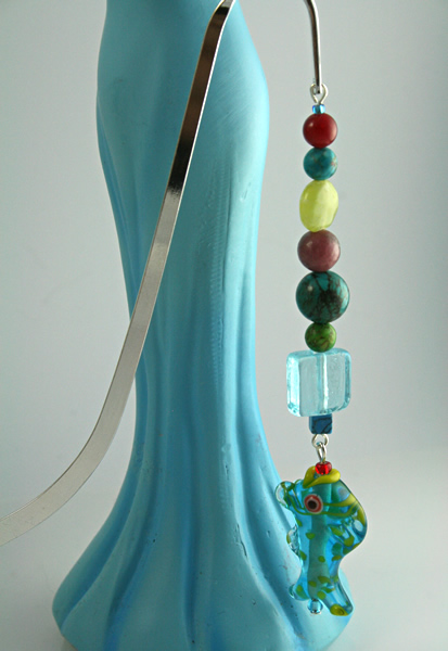 Sea Jewels bookmark, model, md