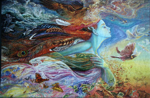 Josephine Wall - Spirit of Flight, med