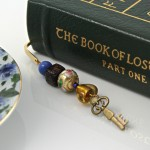 Key to the heart bookmark, book, md