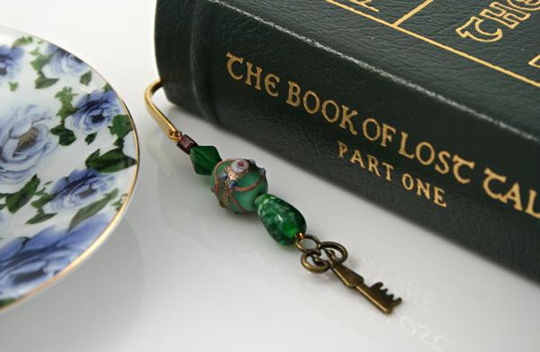 Secret key bookmark, book, md