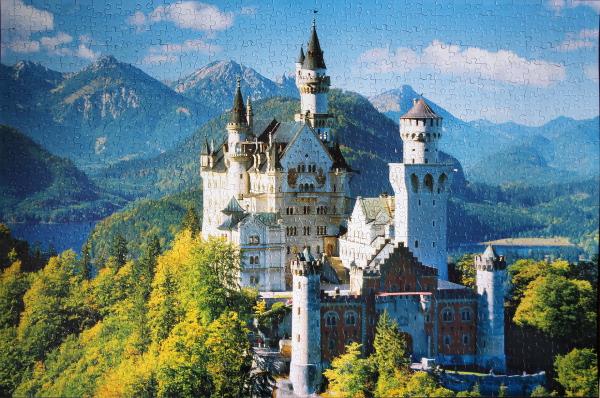 Neuschwanstein Castle 2, med