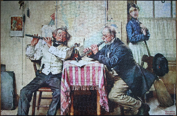 norman rockwell the love song Buy norman rockwell 500 piece puzzle - young love: walking to school (1949): jigsaw puzzles - amazoncom free delivery possible on eligible purchases.
