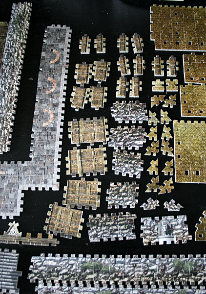 Golden Hall, Edoras, LotR, assembled pieces 5, med