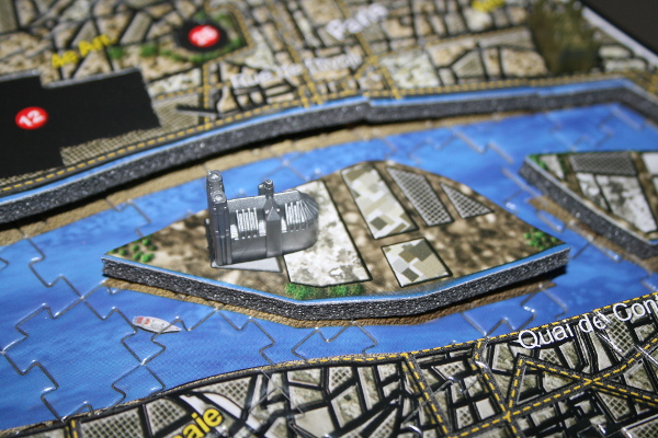 4D - Historical map of Paris, island, med