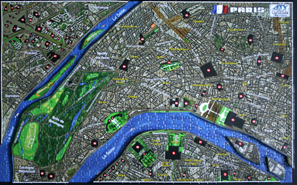 4D - Historical map of Paris, layer 2, med