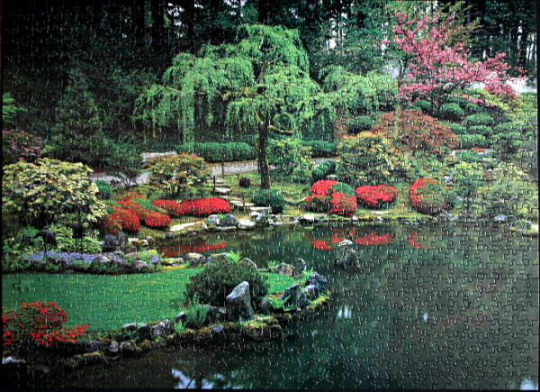 Japanese Garden, Portland, OR, USA, med