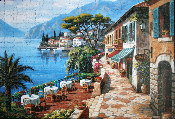 Sung Kim - Overlook Cafe II, med