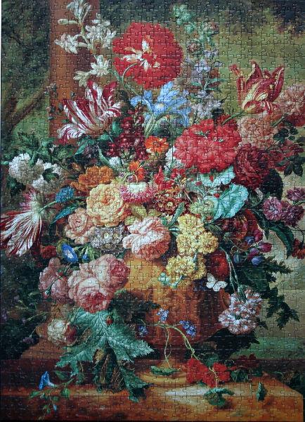 Still-life with flowers, med