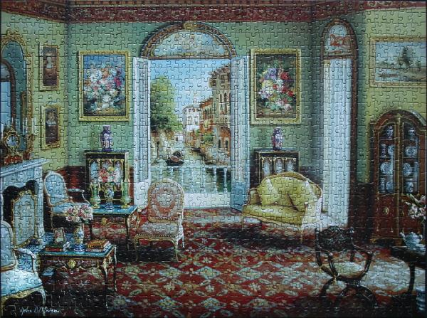John OBrien - Venetian Interior, med