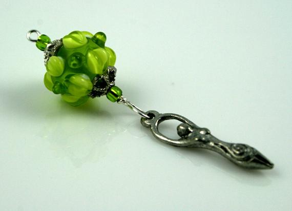 Blessingway bead spring goddess, med