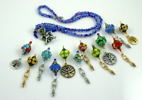 Blessingway beads collection from Veddma, med