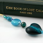 Bookmark heart of the ocean, book, med