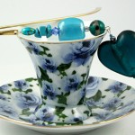 Bookmark heart of the ocean, cup, med