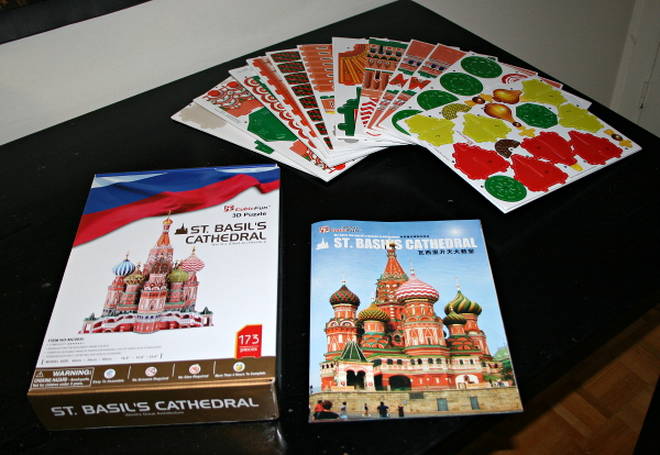 St. Basil's Cathedral, set, med