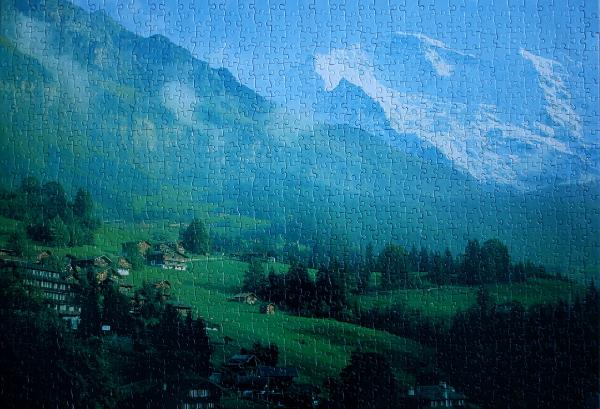 Swiss Alps, med