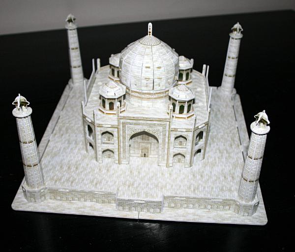 Taj Mahal, complete front, med
