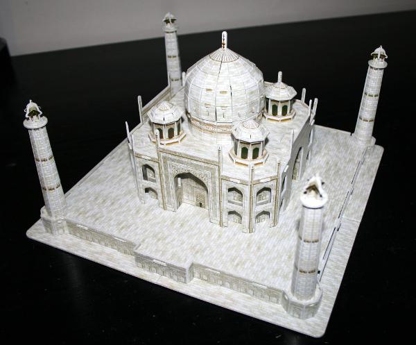 Taj Mahal, complete side, med
