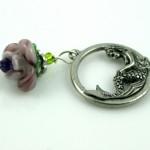 Blessingway bead - Rose mermaid, md