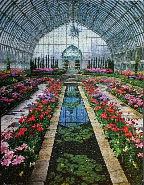 Como Park Conservatory, St. Paul, Minnesota, U.S.A., med