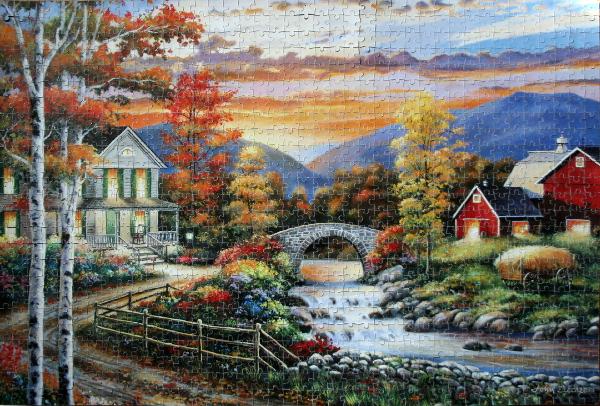 John Zaccheo - Rural Countryside, med