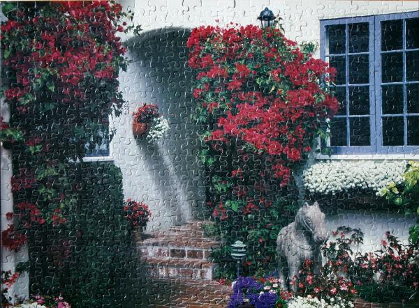 Mediterranean Garden, California, med